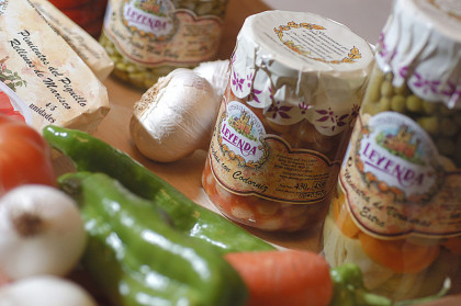 Productos vegetales en conserva
